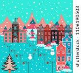 vector illustration. cute... | Shutterstock .eps vector #1106190503