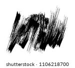 abstract grunge brush.vector... | Shutterstock .eps vector #1106218700