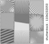 comic book monochrome... | Shutterstock .eps vector #1106232053
