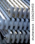 cast iron radiator | Shutterstock . vector #1106234453