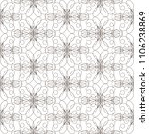 seamless pattern with wavy... | Shutterstock .eps vector #1106238869