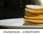 close up traditional pancakes... | Shutterstock . vector #1106241644
