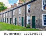 Row Of Restored Victorian Brick ...
