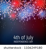 fourth of july  independence... | Shutterstock . vector #1106249180