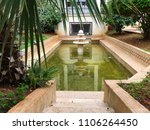 Small photo of Pool in the roof garden in Museum of Fine Arts, Algiers, Algeria.