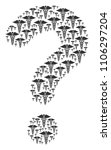 question figure created with... | Shutterstock .eps vector #1106297204