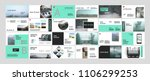 original presentation templates ... | Shutterstock .eps vector #1106299253
