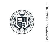 university and college school... | Shutterstock .eps vector #1106307878