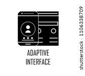 adaptive interface icon....