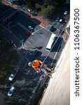 construction rope access worker ...   Shutterstock . vector #1106367500