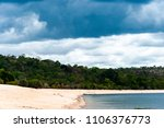 beautiful view of tapajos river ... | Shutterstock . vector #1106376773