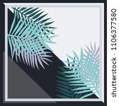 decorative ornament with... | Shutterstock .eps vector #1106377580