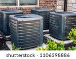 close up  residential air...   Shutterstock . vector #1106398886