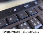 function keys  f7 | Shutterstock . vector #1106399819