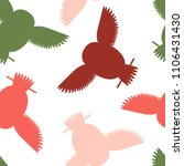 seamless vector pattern with... | Shutterstock .eps vector #1106431430