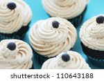 chocolate cupcakes with coffee... | Shutterstock . vector #110643188