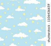 seamless cartoon background... | Shutterstock .eps vector #1106436659