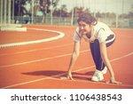 starting from the starting... | Shutterstock . vector #1106438543