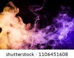 pink  purple  blue  orange ... | Shutterstock . vector #1106451608