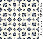 vector damask seamless pattern | Shutterstock .eps vector #1106459426