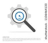 speedometer icon   free vector...