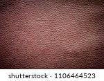 old brown leather texture... | Shutterstock . vector #1106464523