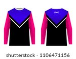 templates jersey for mountain... | Shutterstock .eps vector #1106471156