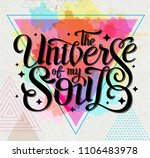 lettering. typography design... | Shutterstock .eps vector #1106483978