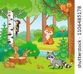 vector illustration with...   Shutterstock .eps vector #1106485178
