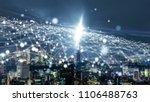 smart city concept. iot... | Shutterstock . vector #1106488763
