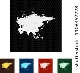 map of asia   Shutterstock .eps vector #1106492228