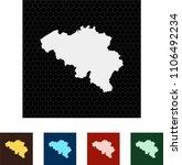 map of belgium   Shutterstock .eps vector #1106492234