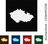 map of czech republic   Shutterstock .eps vector #1106492258