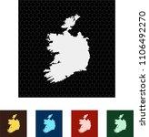map of ireland   Shutterstock .eps vector #1106492270