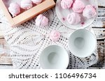 homemade currant pink... | Shutterstock . vector #1106496734