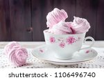 homemade currant pink... | Shutterstock . vector #1106496740