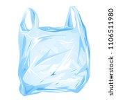 plastic bag isolated | Shutterstock .eps vector #1106511980