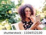 outdoor close up portrait of... | Shutterstock . vector #1106512130