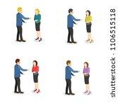 business characters vector... | Shutterstock .eps vector #1106515118