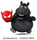 fun horse   3d illustration   Shutterstock . vector #1106517893