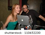 allenina and j logic at her... | Shutterstock . vector #110652230