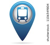 train icon isolated. high speed ...