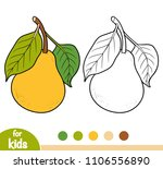 coloring book for children ... | Shutterstock .eps vector #1106556890