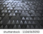 abstract 3d minimalistic... | Shutterstock . vector #1106565050