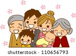 family illustration | Shutterstock . vector #110656793
