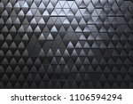 abstract 3d minimalistic... | Shutterstock . vector #1106594294