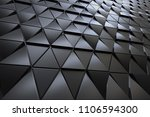 abstract 3d minimalistic... | Shutterstock . vector #1106594300