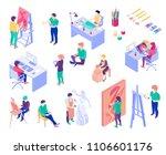 creative professions artist ... | Shutterstock .eps vector #1106601176