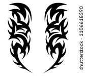 tattoos ideas sleeve designs  ... | Shutterstock .eps vector #1106618390