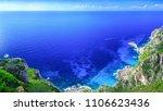 beautiful summer panoramic... | Shutterstock . vector #1106623436